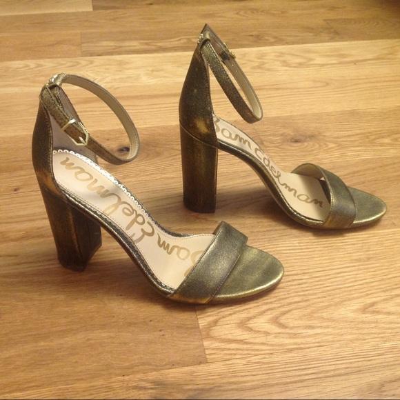 Sam Edelman Yaro Gold Metallic Sandal